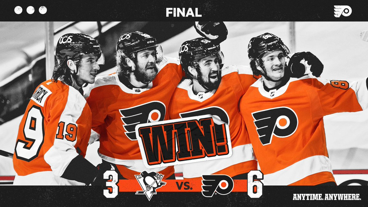 @NHLFlyers's photo on #AnytimeAnywhere