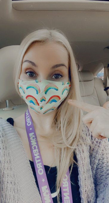 If you are a shy gay I suggest you get yourself a mask like this! SO many pretty girls have commented