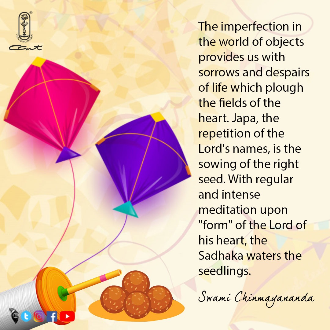 Wishing each and everyone an auspicious Sankranti, Lohri, Magh Bihu and Pongal. Let our hearts also be nourished with the waters of spiritual sadhana.⠀ ⠀ #Chinmayam #vedanta #makarsankranti #pongal2021#thoughtfortheday #spiritualawakening #bharat #indianfestivals #sanatandharma