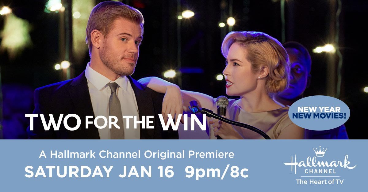 When Justin @trevdon left town for his skiing career, he left a lot of people behind them. Is his ex-best friend Kayla #CharlotteSullivan ready to forgive him? See for yourself when you tune in Saturday at 9pm/8c for the Hallmark Channel Original Premiere #TwoForTheWin. 🎿