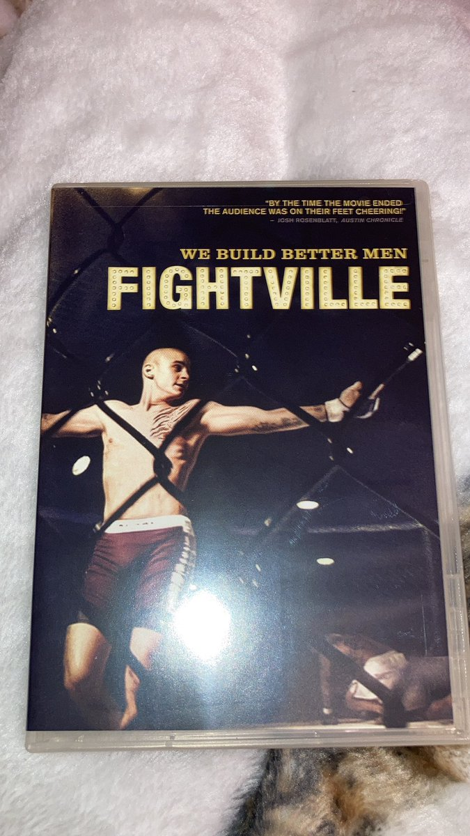 Replying to @WiserHipHop: Got a copy of fightville today 🙌🏻super excited to finally watch this @DustinPoirier