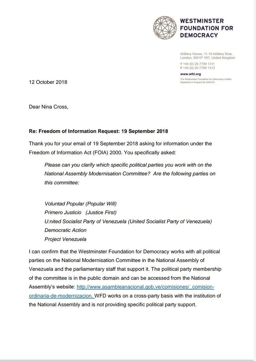 Amenazas no nos intimidan. La prueba que el PSUV, al igual que el propio gobierno, se ha beneficiado de la cooperación internacional que tanto criminaliza https://t.co/WeuBZWQiHh