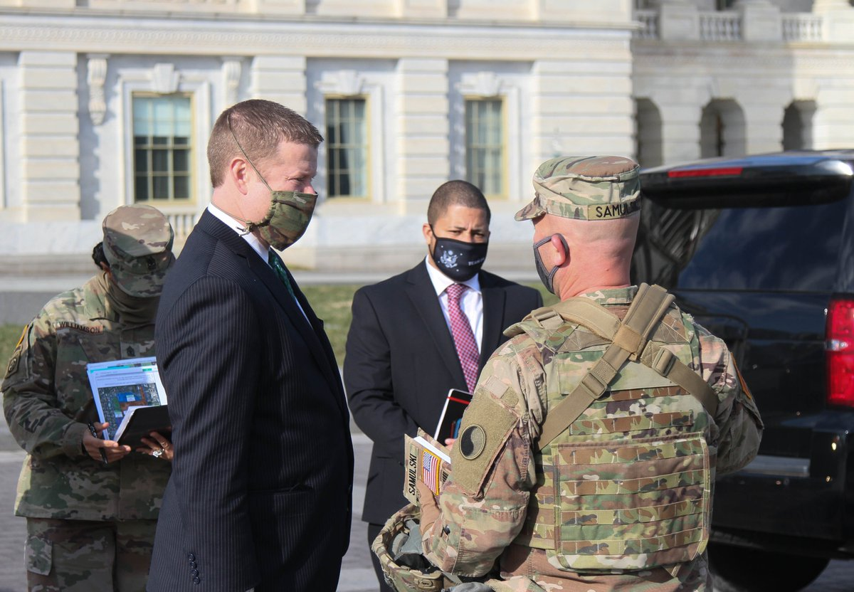 I invested time today to get a clear understanding of the task, purpose, and role of our National Guardsmen during this challenging time. I am confident we will continue to defend the rights of every American. #PeopleFirst @NationalGuard @USArmy
