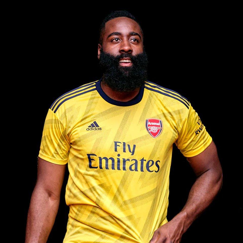 James Harden to @Arsenal? 🤔