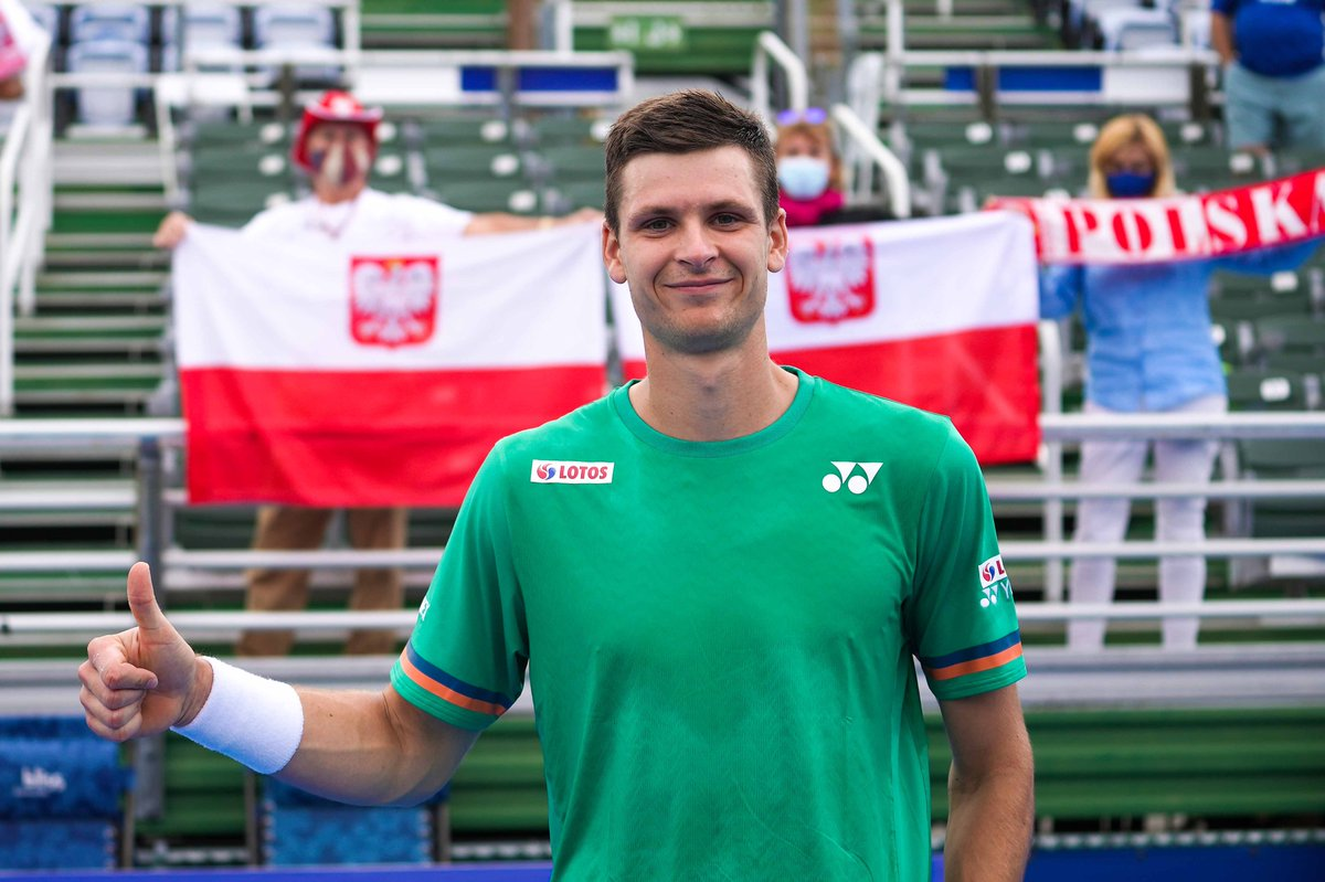 🏆 Your new #DBOpen singles champion 🏆  @HubertHurkacz defeats Sebastian Korda 6-3, 6-3 to capture his second career title. https://t.co/0Vt617DQ0s