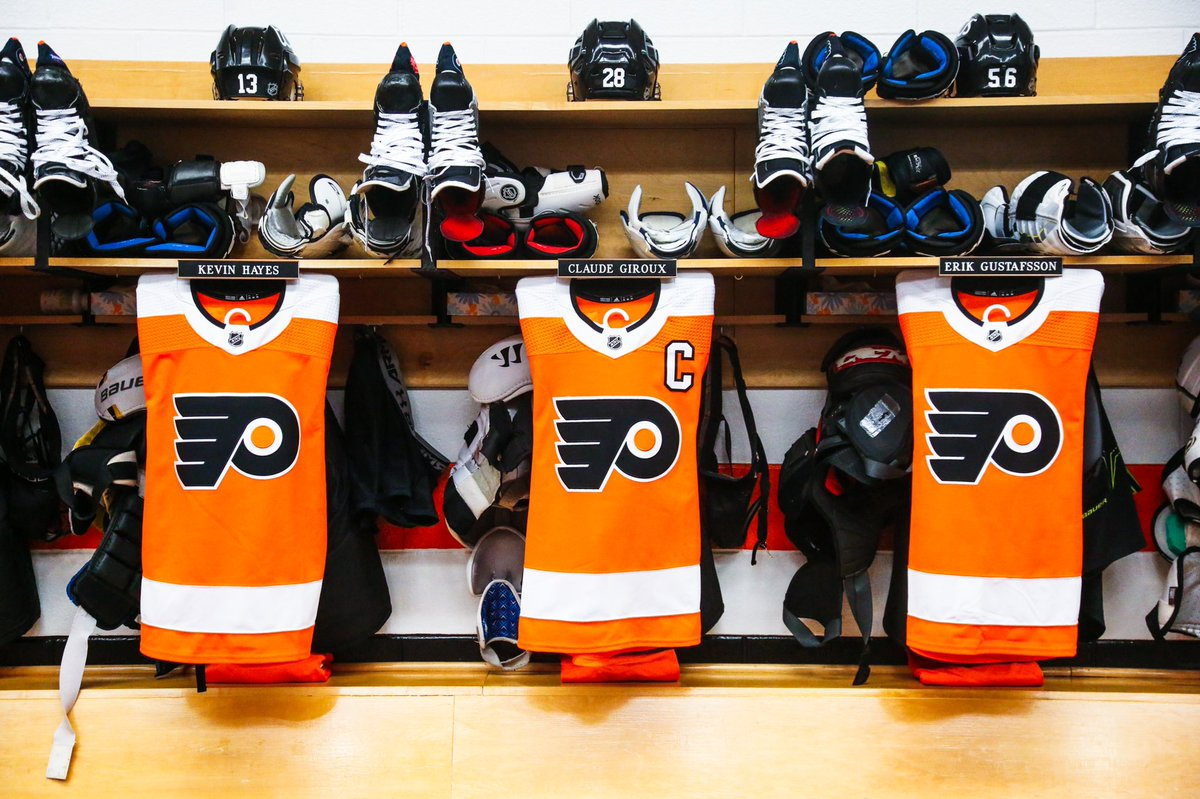 Replying to @NHLFlyers: The Orange & Black are back. #AnytimeAnywhere