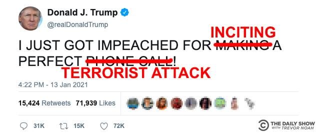 We got you @realDonaldTrump