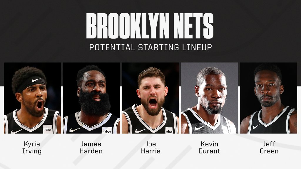 The Nets are looking ridiculous on paper 🍿