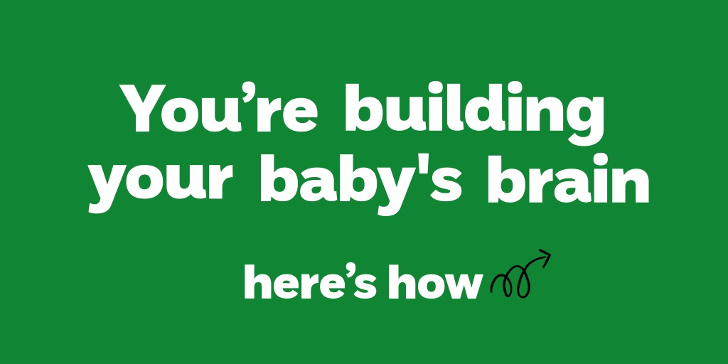 We know it can be difficult to think of things to do with your little one in lockdown. But simply smiling, talking, singing & playing with your baby can help build their brains 🧠. All you need is what's round your house! Sign up here:  #LookSaySingPlay