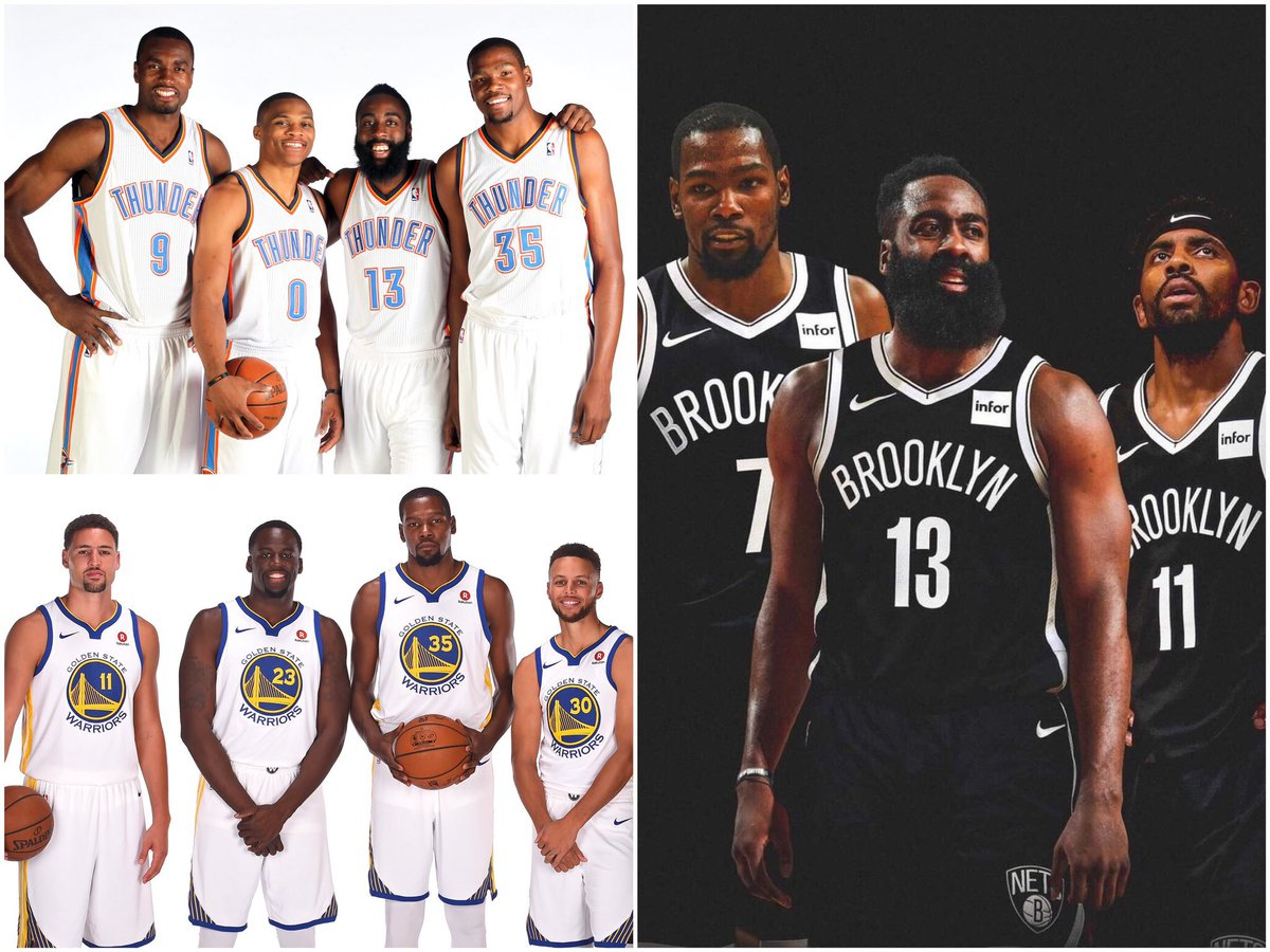 Kevin Durant has been on some STACKED teams. 😳🔥  (image via @ThrowbackHoops) https://t.co/r4zJIOyRdr