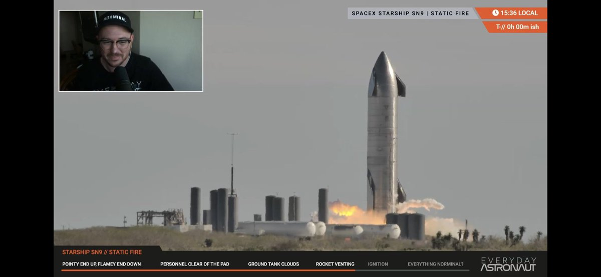 @elonmusk I watched it live! It was awesome! 🚀
