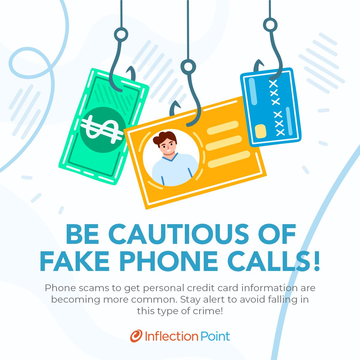 Do you know what #Vishing is? This practice is a type of scam that is carried out through phone calls and seeks to obtain banking information from its victims. 💳 Know how they cheat users and avoid falling into this crime. Stay alert! 🚨 #WeAreIPS https://t.co/eN9wf88N9A