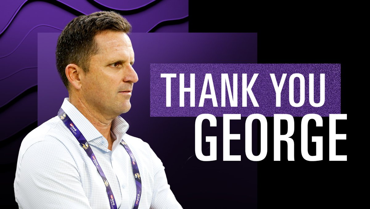 For 14 years of dedication and hard work, the Vikings can't thank you enough, George.   We wish you nothing but the best with the Denver Broncos.