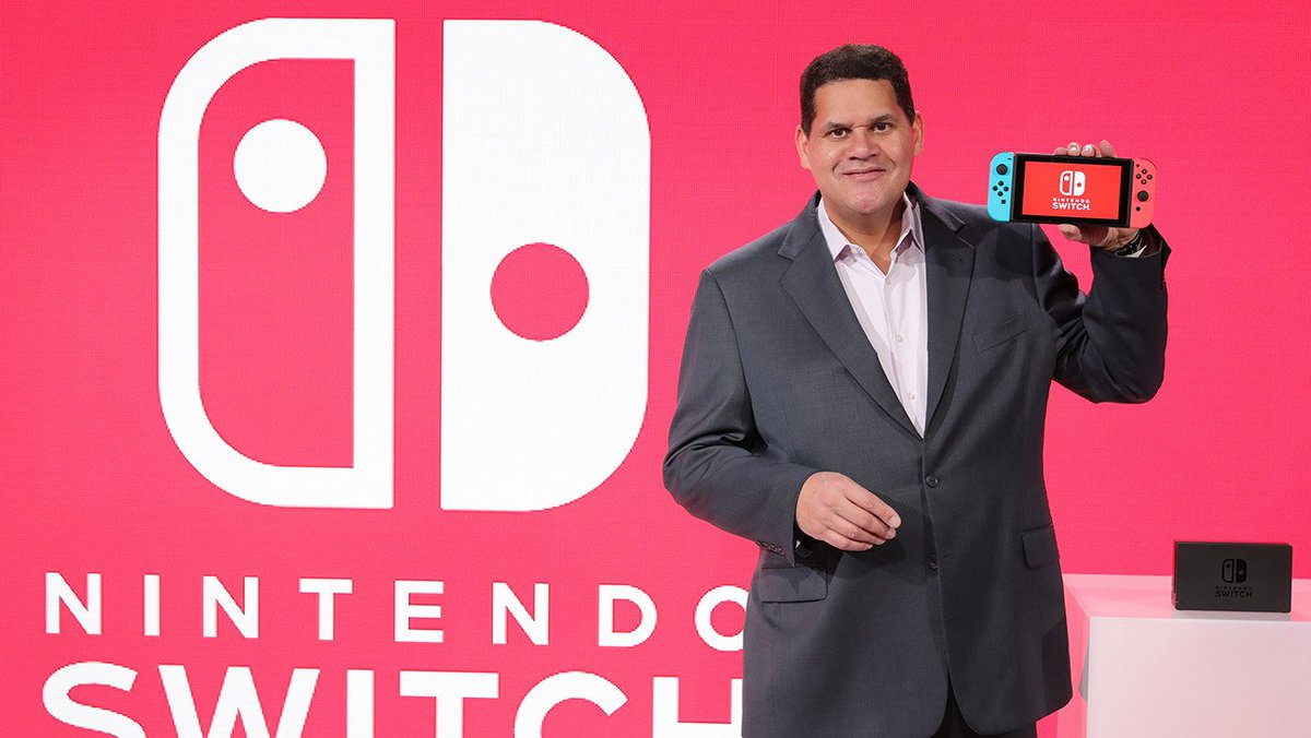 Just saw this in my timeline: 4 years ago today, January 13, New York City with @reggie and Team Nintendo for the first hands-on with Nintendo Switch!