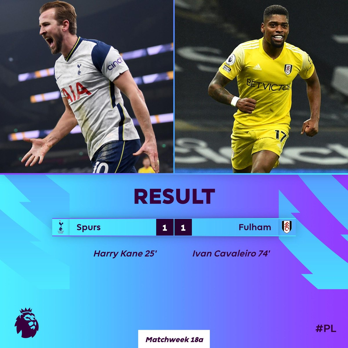 Fulham fight back to claim a much-deserved point  #TOTFUL
