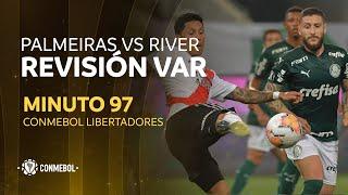 VAR - Copa Libertadores Palmeiras vs River Plate - Minuto 97 - Analisis de Fuera de Juego / Incidente en área de penal - Miralo aqui👇 https://t.co/z2CDWrwXkc https://t.co/RiSjSZTOd8