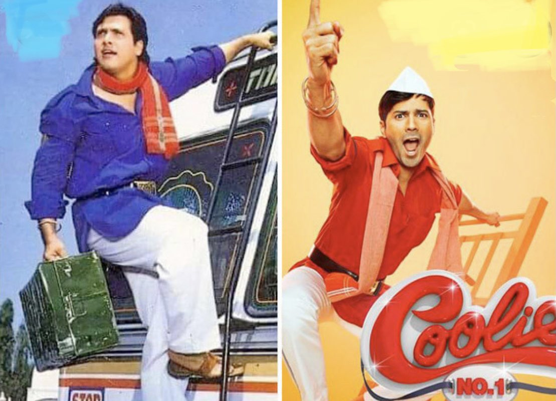 To pull off a #Govinda movie u must be full on tapori style to do justice, Varun is entertaining but #SaraAliKhan just doesn't cut as the #KarishmaKapoor from #CoolieNo1 ..watch the song #Tujhkomirchilagi from both to ascertain...  #daviddhawan