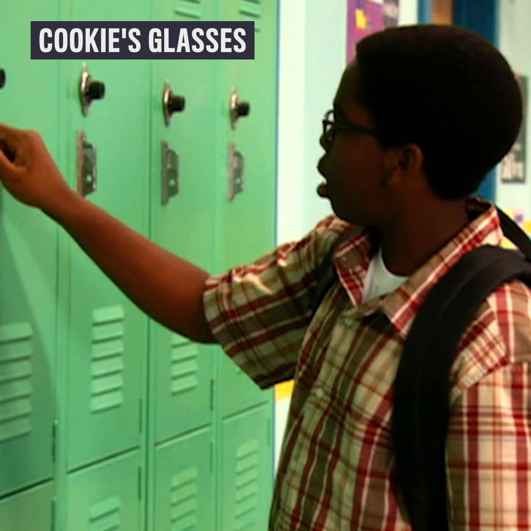 still jealous of cookie's glasses