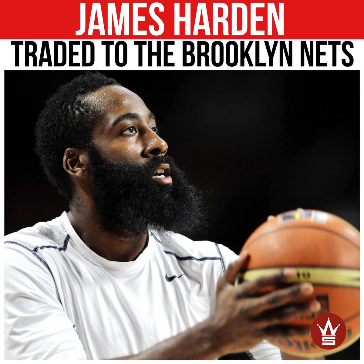 "According to reports, #JamesHarden has been traded to the #BrooklynNets in a ""blockbuster four team trade."" What do y'all think about Harden and #KevinDurant reuniting?! 👇🏀👀 https://t.co/aQzz9RwcrY"