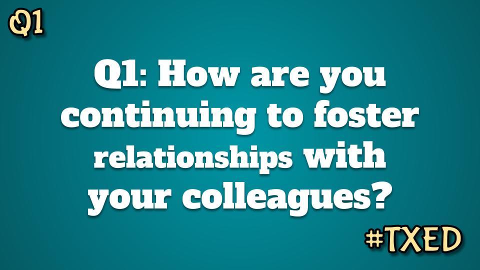 Question #1 again. #TXed