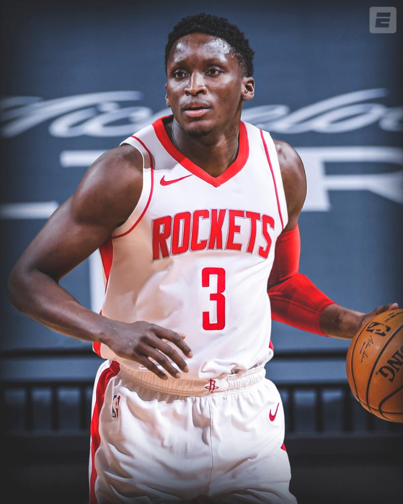 Victor Oladipo is ready for takeoff in Houston 🚀 @VicOladipo   (via @wojespn) https://t.co/EOLLpmZGzL