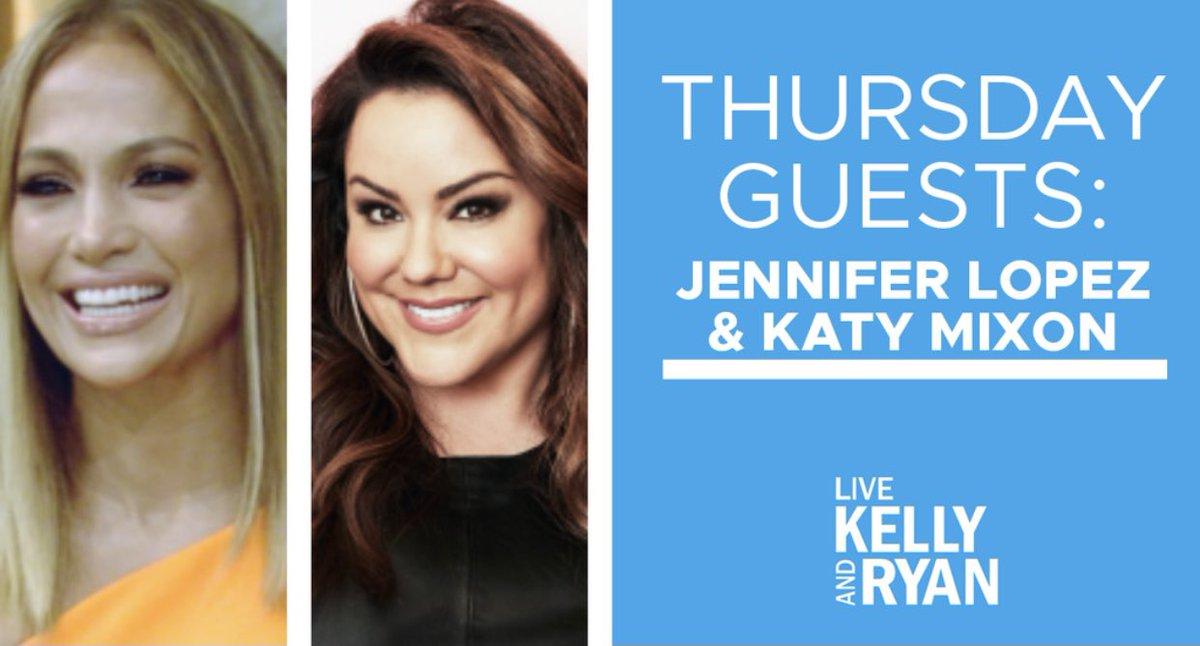 Replying to @LiveKellyRyan: . @JLo & @AmericanWifeABC star Katy Mixon will be on tomorrow's show! #KellyandRyan