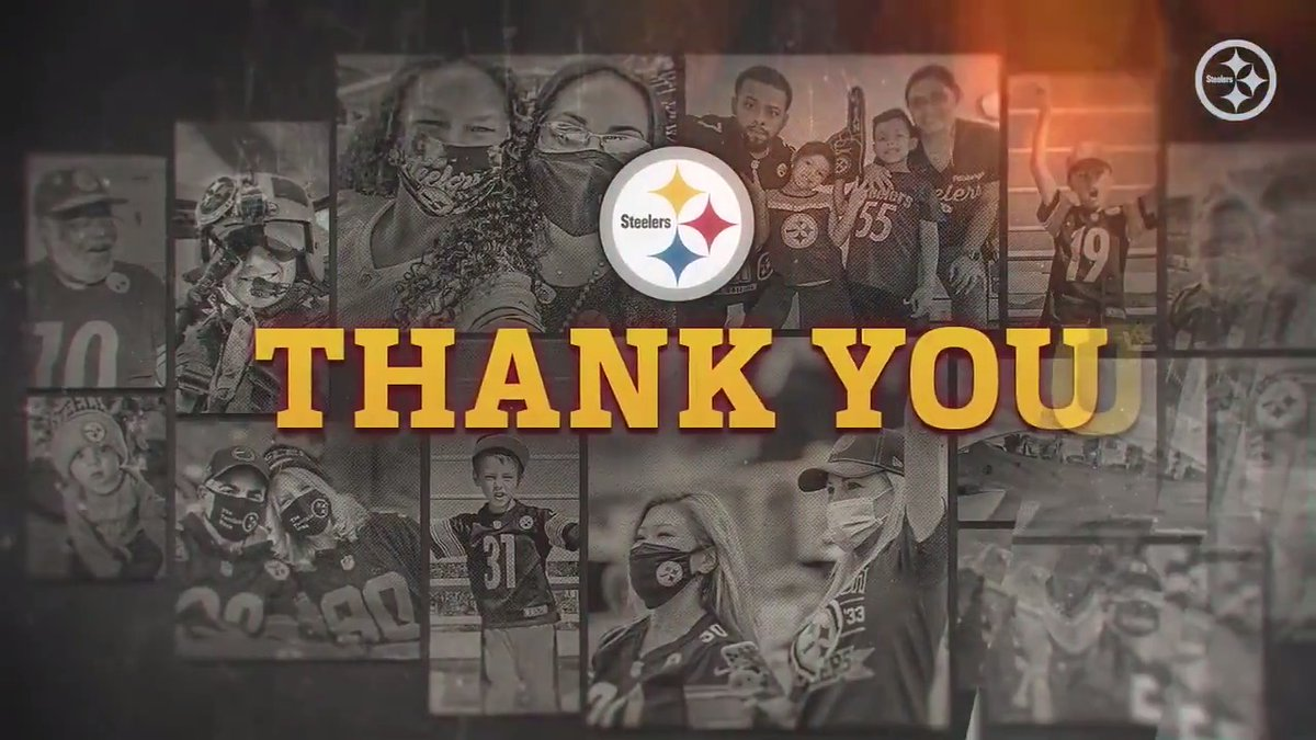 Replying to @SteelersUnite: To the best fans in the world, we thank you #SteelersNation.