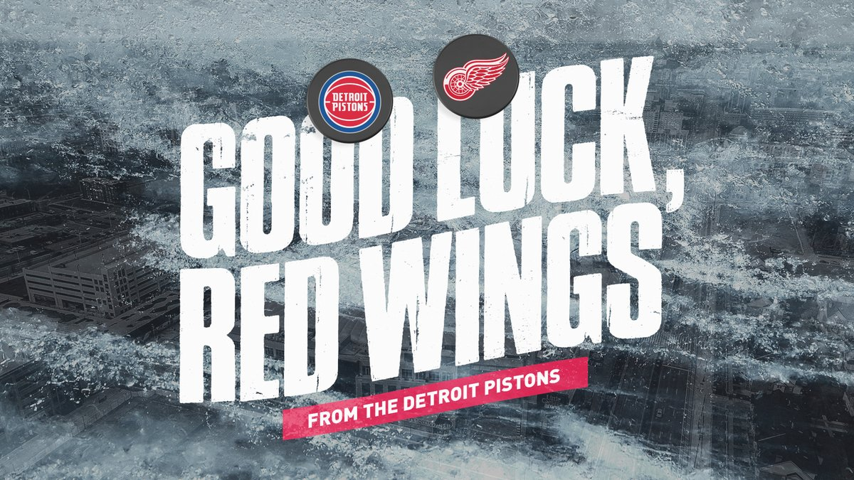 New captain, new season. Good luck to our friends @DetroitRedWings as they drop the puck tonight.  #DetroitUp x #LGRW