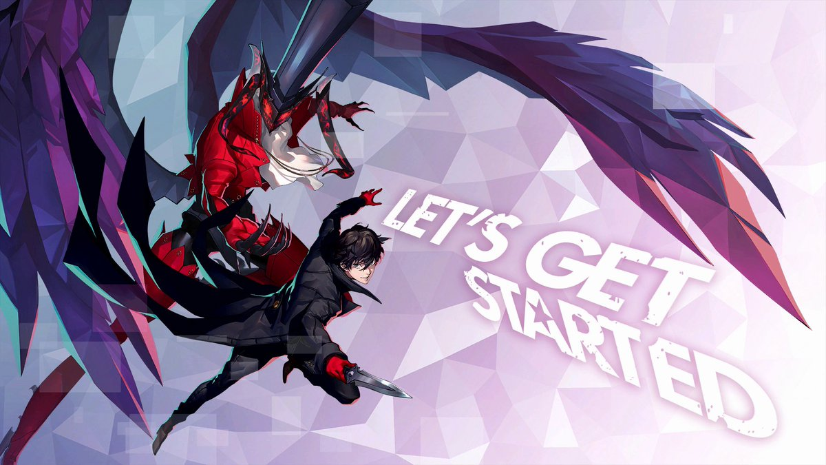Replying to @Atlus_West: ⭐ Let's Get Started ⭐