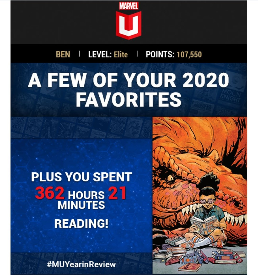 ...yeah? #MUYearInReview #Marvel