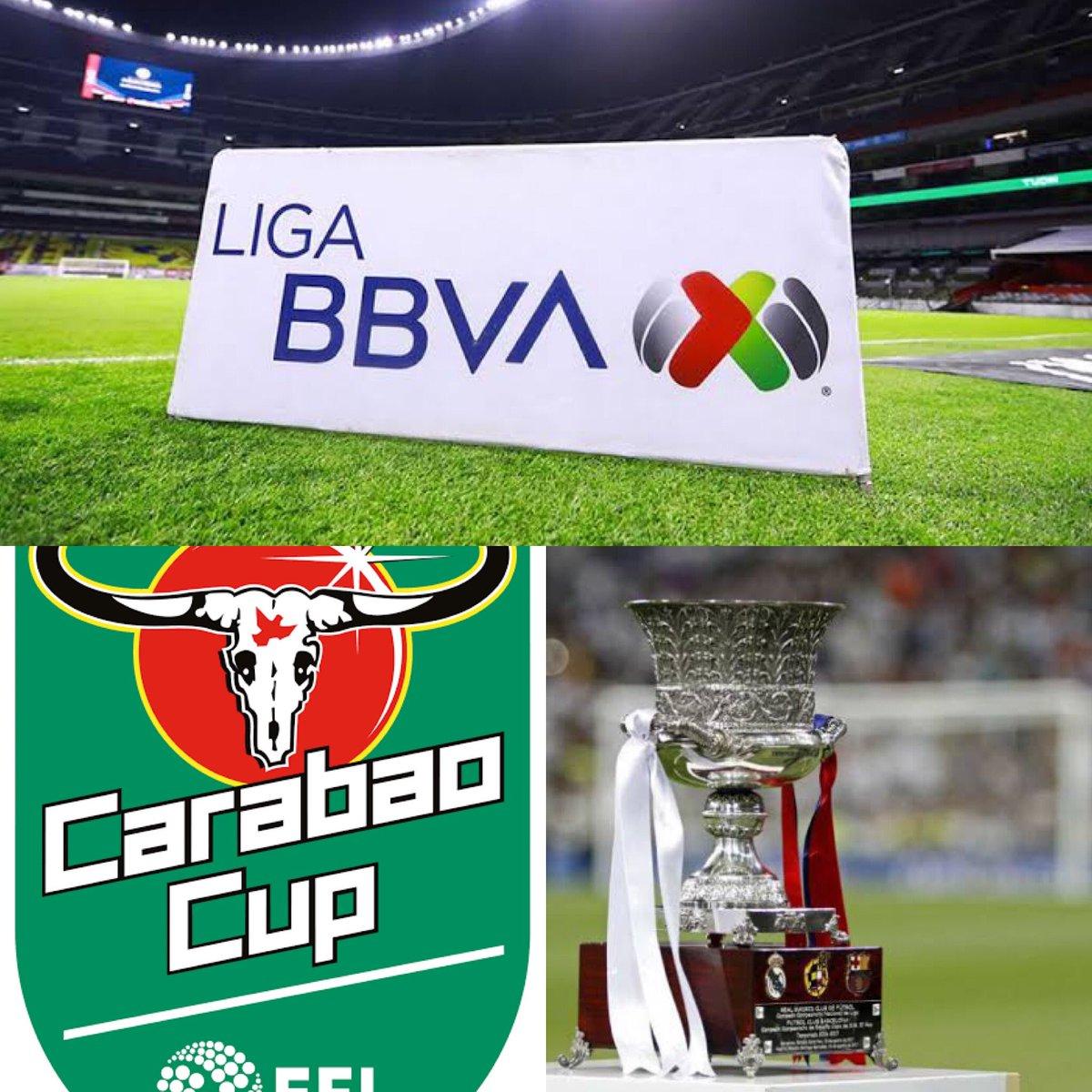 En el último #podcast hablamos de la #CarabaoCup la #supercopa de españa y de la #LigaBBVAMX si te interesan estos torneos o la #Libertadores tienes que escucharlo! 🎙