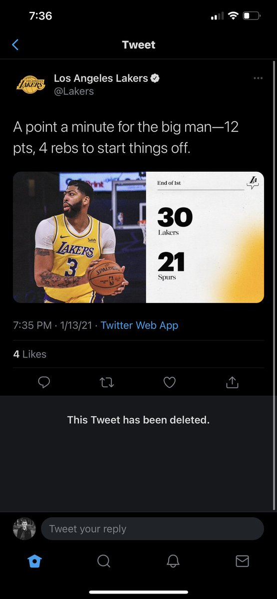 @Lakers You can't lie to us