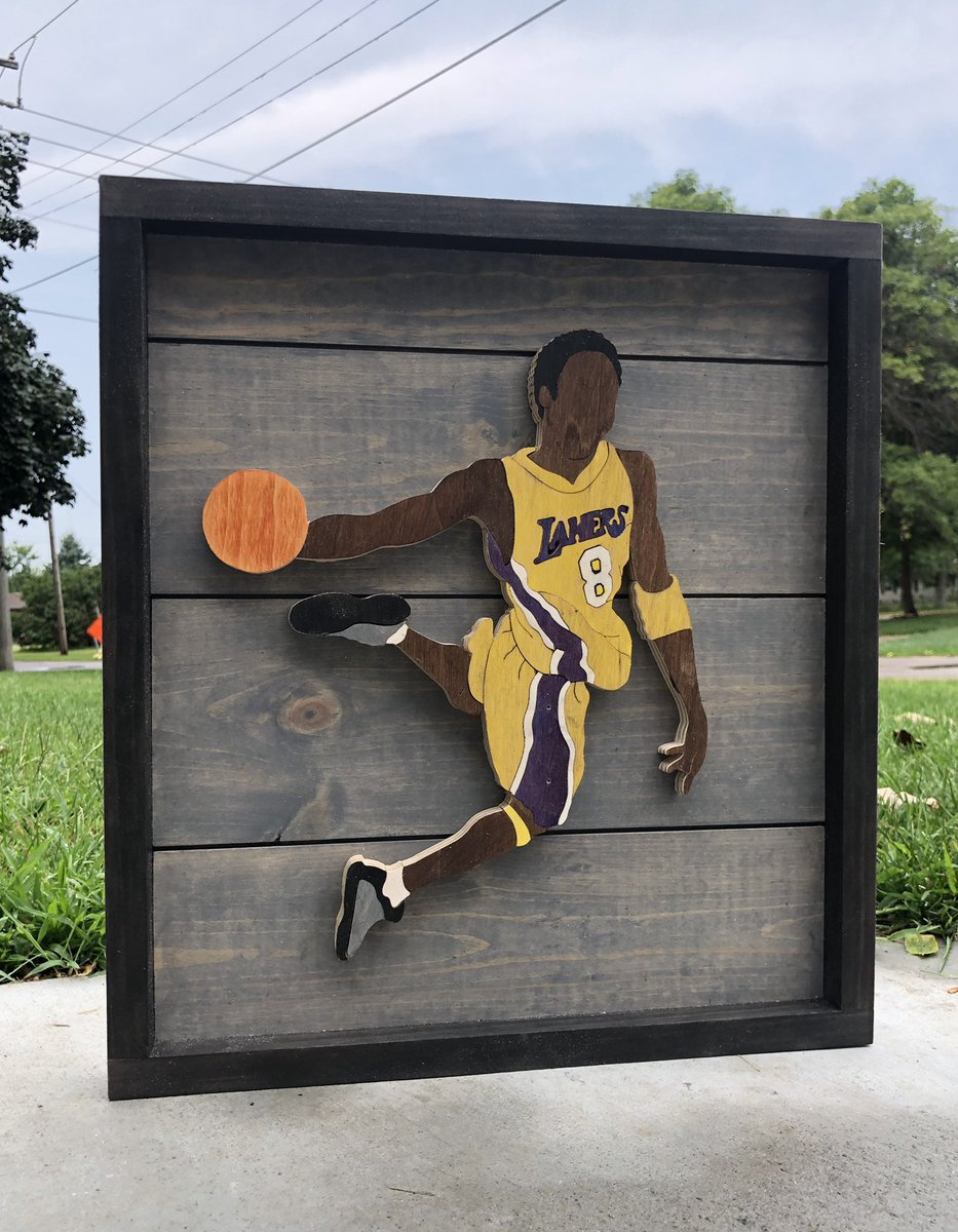 @Lakers Check out some Laker pieces I've made!