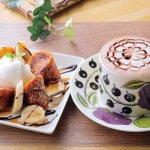 Image for the Tweet beginning: onnea Sweets&Coffee 「オンネア スイーツアンドコーヒー」 旭川市豊岡4条2丁目5-20  北欧雑貨とカフェが同時に楽しめるお店✨ 楽しいひと時がありますよ〜^ ^    #オンネア #カフェ #旭川 #マップス #情報誌 #飯テロ