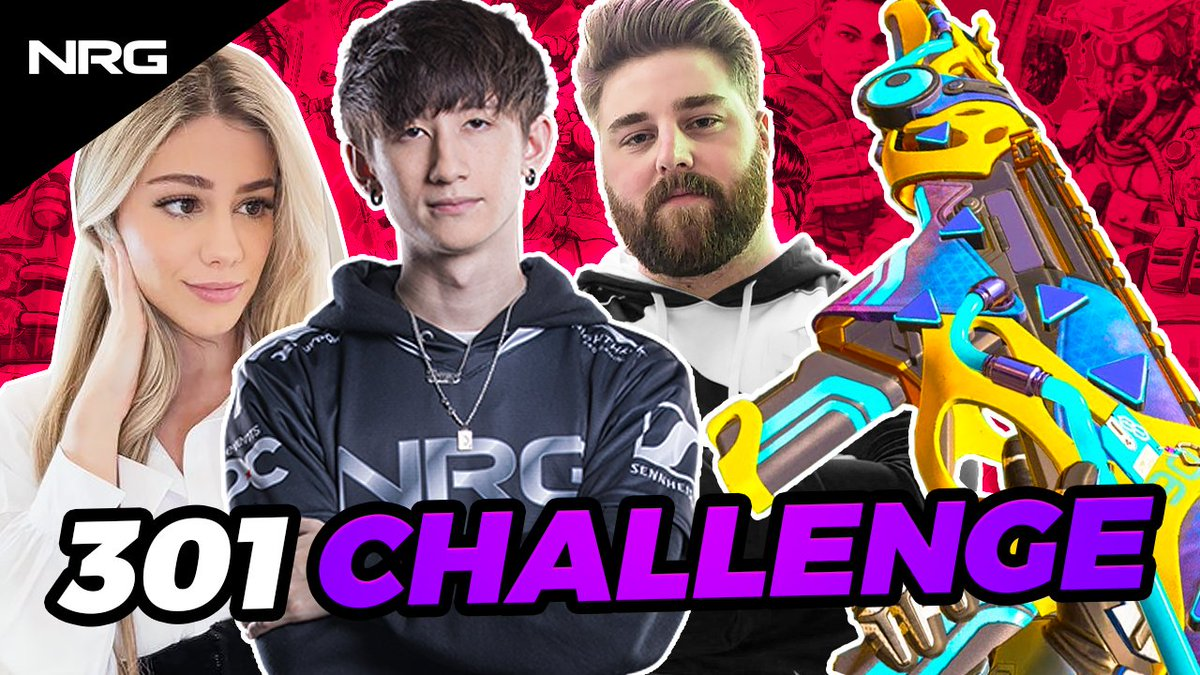 for our first original apex video we had @acesu @LuluLuvely and @TTrebb hop into a lobby to see who had the best tracking in Apex 👀  did we mention we're also giving away 1,000 Apex coins to 10 of our first 10,000 subscribers?  full vid: