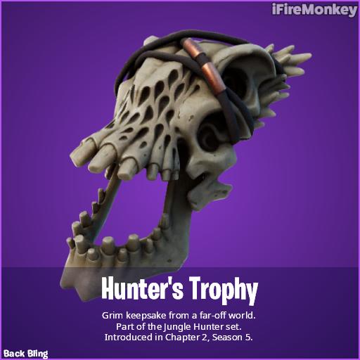 Acessório para as costas do Predador
