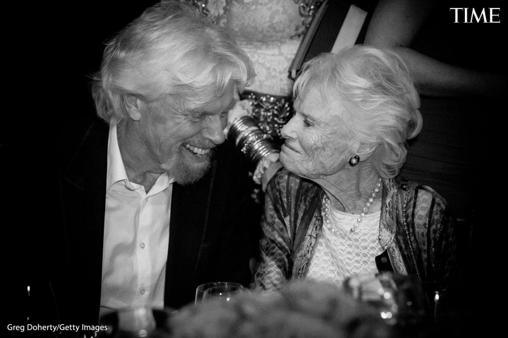 """When I was growing up she was always working [on] a project; she was inventive, fearless, relentless—an entrepreneur before the word existed,"" Richard Branson wrote of his mother Eve Branson. She died on Jan. 8.  Read more about those lost to COVID-19: https://t.co/q1if8GhhHF https://t.co/IByyutG6Wo"