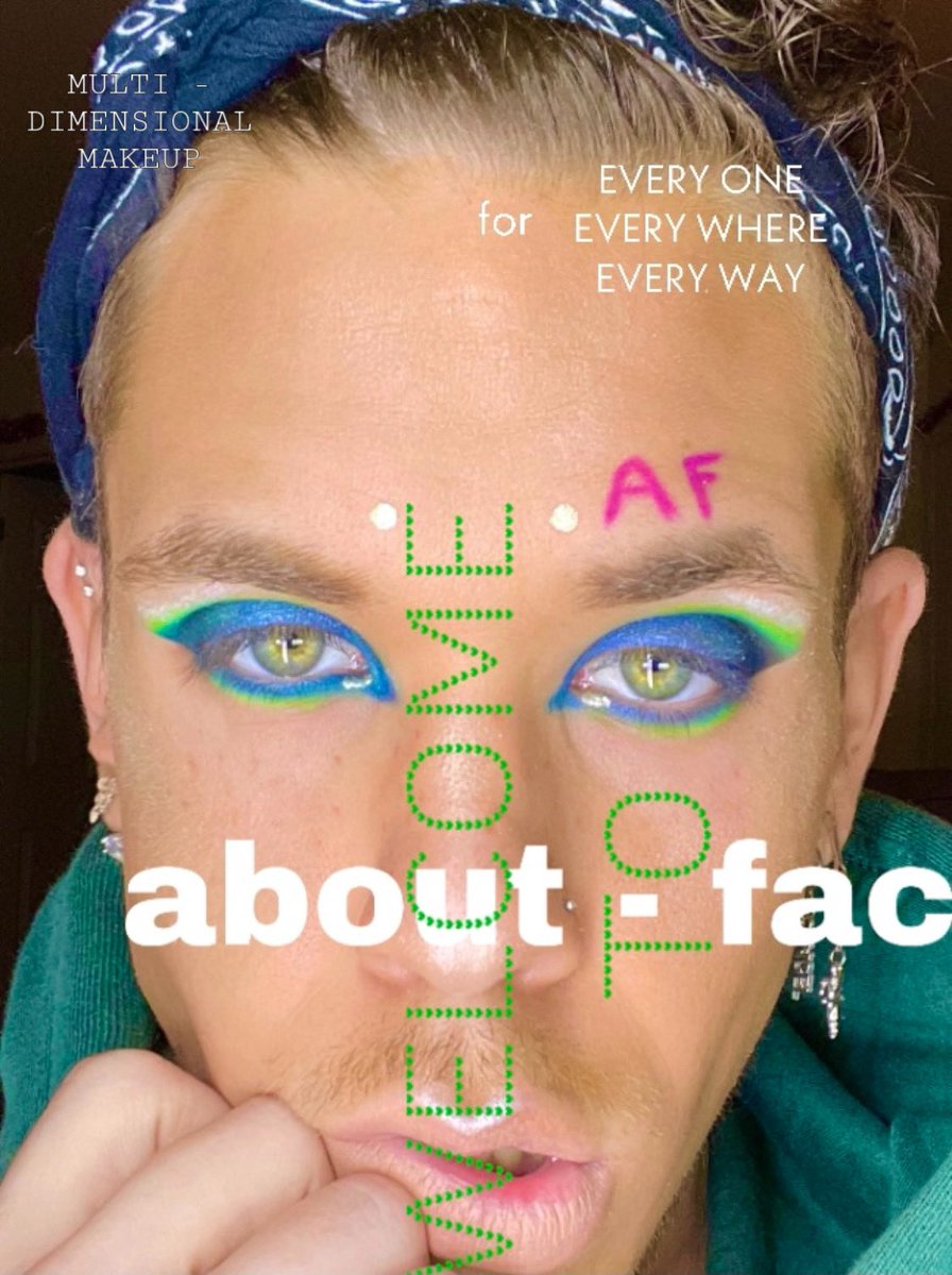 ABOUT - CREATIVITY ✨  #aboutface @halsey @aboutfacebeauty