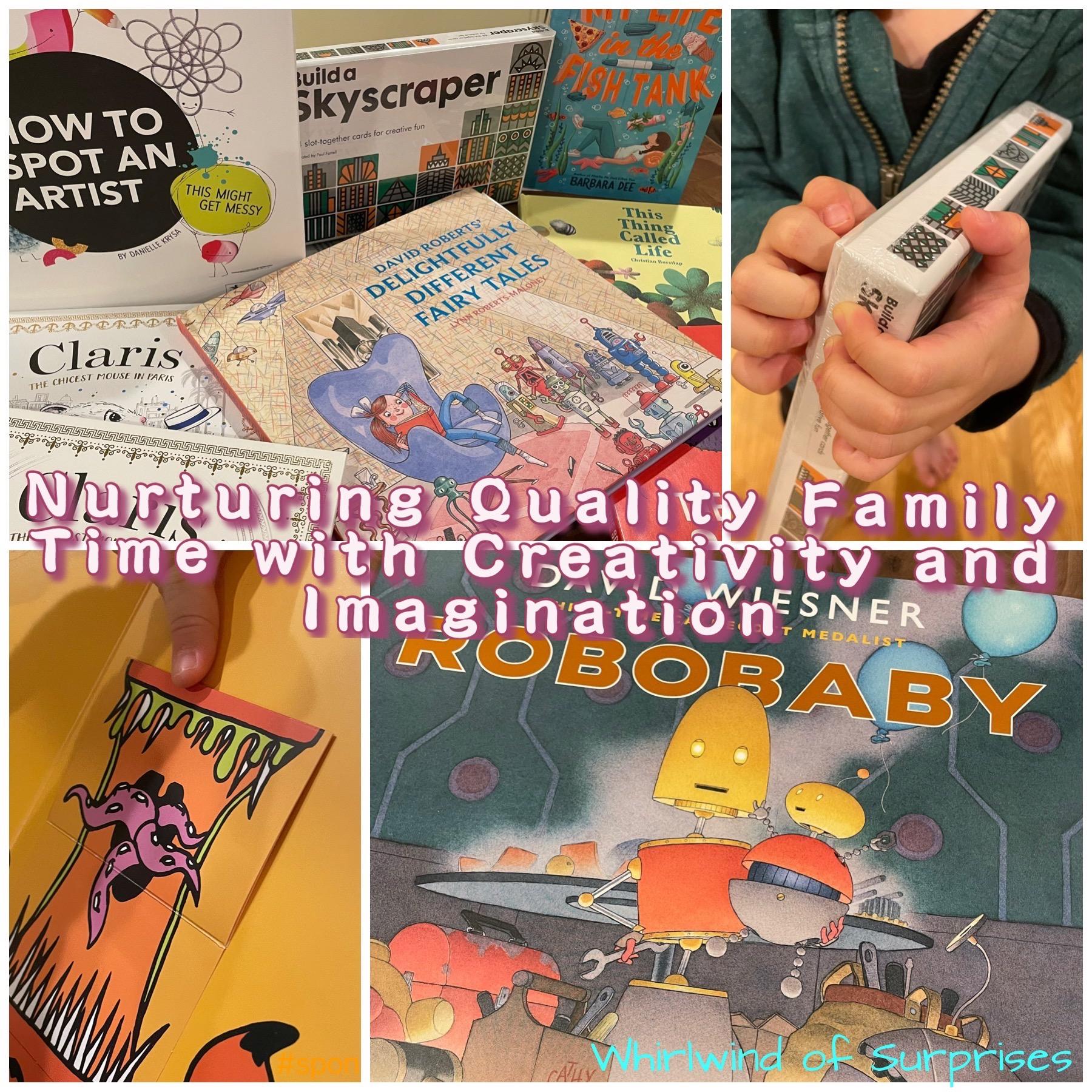 Nurturing Children with reading and creativity