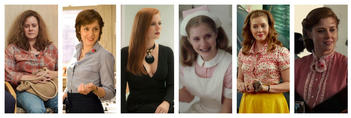 No matter what kind of movie you want to watch tonight, Amy Adams has you covered:   Hillbilly Elegy Julie & Julia  Nocturnal Animals  Catch Me If You Can The Muppets  The Master