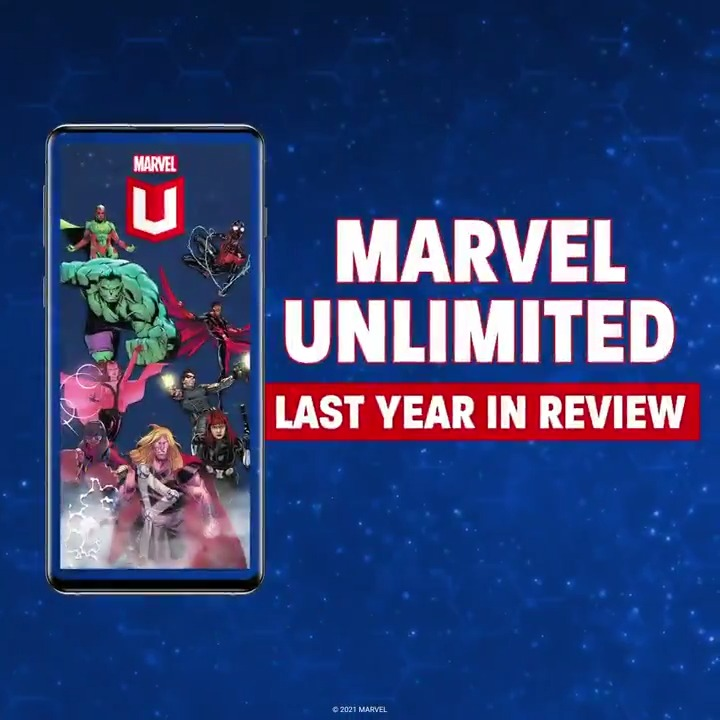 Marvel: RT @MarvelUnlimited: We crunched some numbers! Here's what you were all reading on #MarvelUnlimited last year. 📚📲 #MUYearInReview