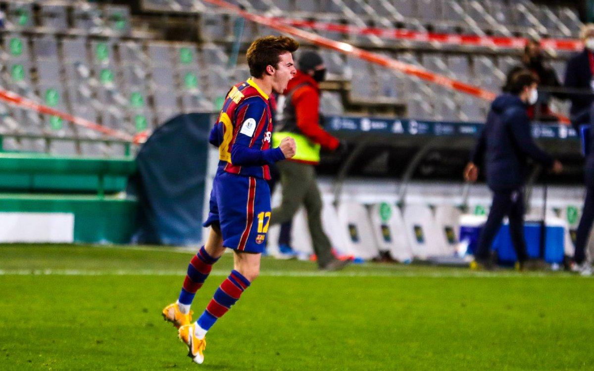 😳 Cuando tu primer gol con el Barça sirve para llegar a una final