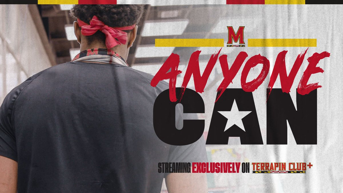 What happens when a 6-foot-6 basketball player tries gymnastics? Find out!  Anyone Can, starring @Aaron_Wiggins_ and featuring @TerpsGymnastics, is live!  WATCH: