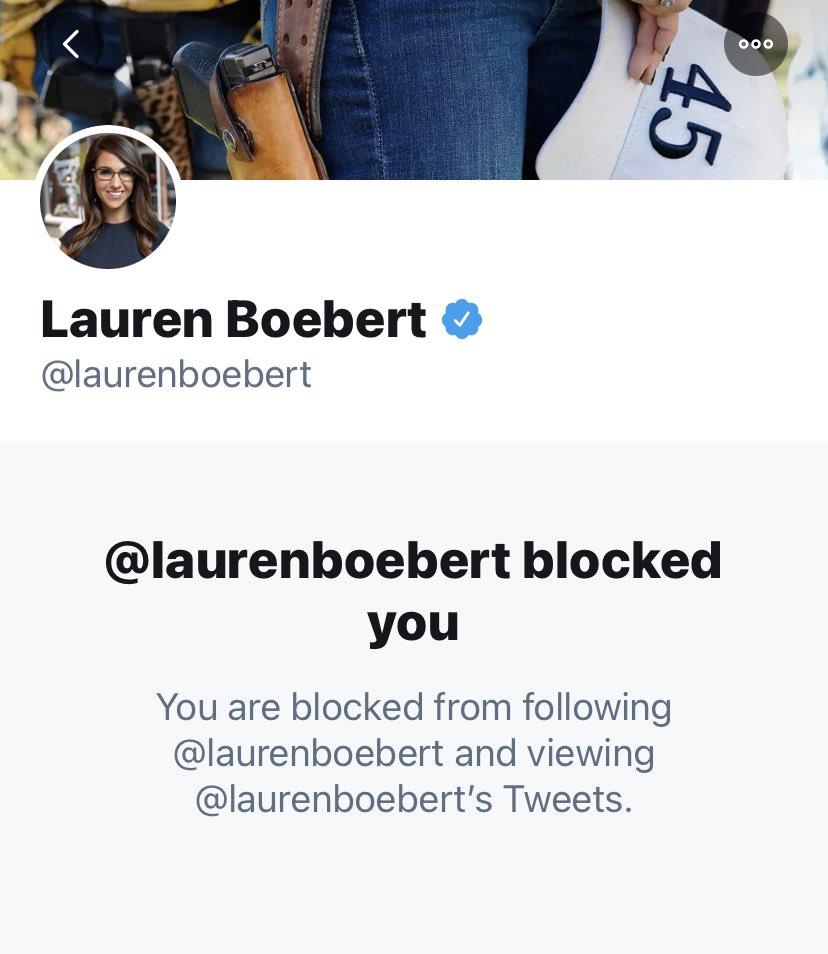 "I'm hearing reports that Lauren ""Squeaky"" Boebert's account has been unlocked. I can't verify this, but she should be banned from Twitter for her hate speech, so keep reporting that Qrazy Qidiot #SqueakyBoebert #StopTeamQ"