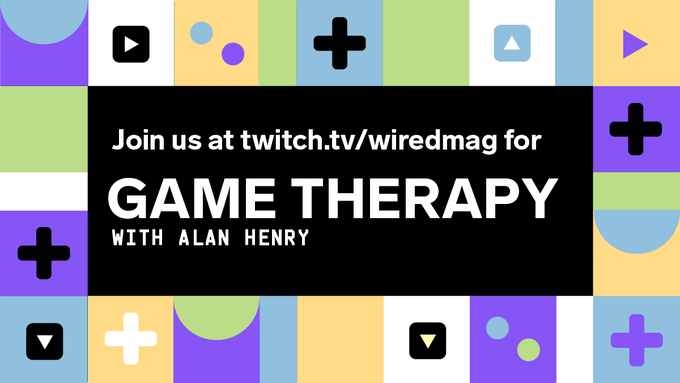 Take a breather with us. Game Therapy, featuring @halophoenix, is starting now: