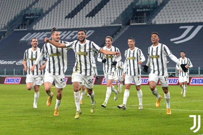 Gol Hamza Rafia jadi penentu kemenangan Juventus atas Genoa di babak 16 besar Coppa Italia 2020/2021