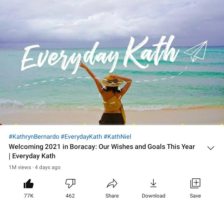 #EverydayKath @bernardokath   Welcoming 2021 in Boracay: Our Wishes and Goals This Year | 01.09.2021  Happy 1M views! 🎉