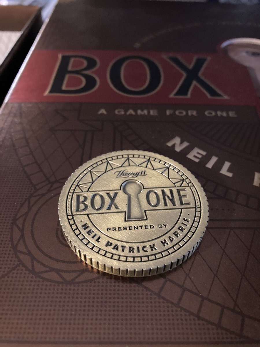 @ActuallyNPH @theory11  Solved it #awesome #boxone #theory11