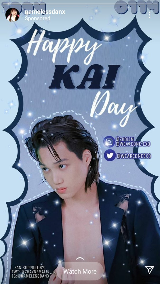 Pretty Ad from @ZhayneMalik_ 🐻❤!  #ArtistKaiDay #HappyKaiDay #종인아생일축하해 #가장_따뜻한_겨울_카이데이  #KAI #카이 @weareoneEXO
