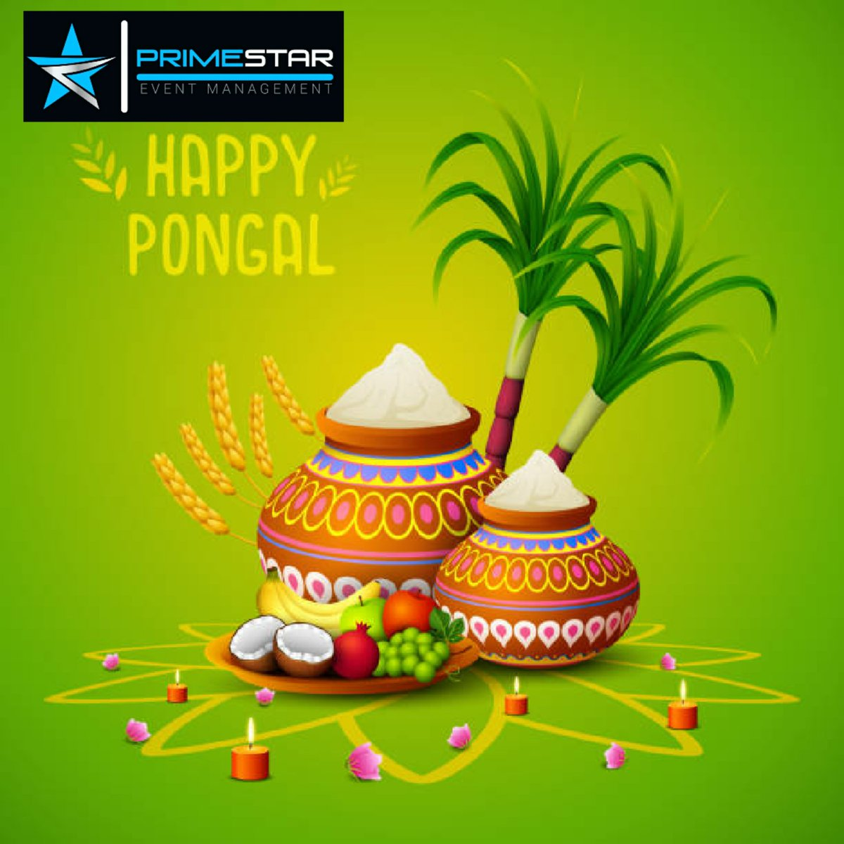 Happy ponggal  May everyone's life filled with happy and prosperity..   Be safe.   #primestareventmanagement #primestar #eventmanagement #ponggal #staysafe #stayathome #covid19 #newyear #letsbegin #letsdothis